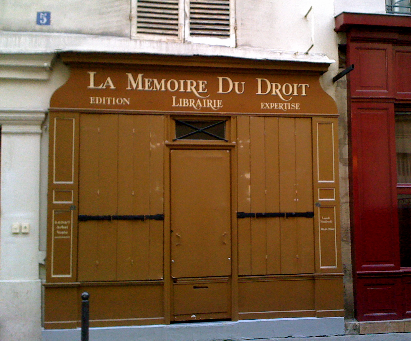 La Memoire du droit (C)photographer Michel Levraux