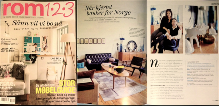 January 2013 : Norway : Rom 1.2.3 (Magazine)