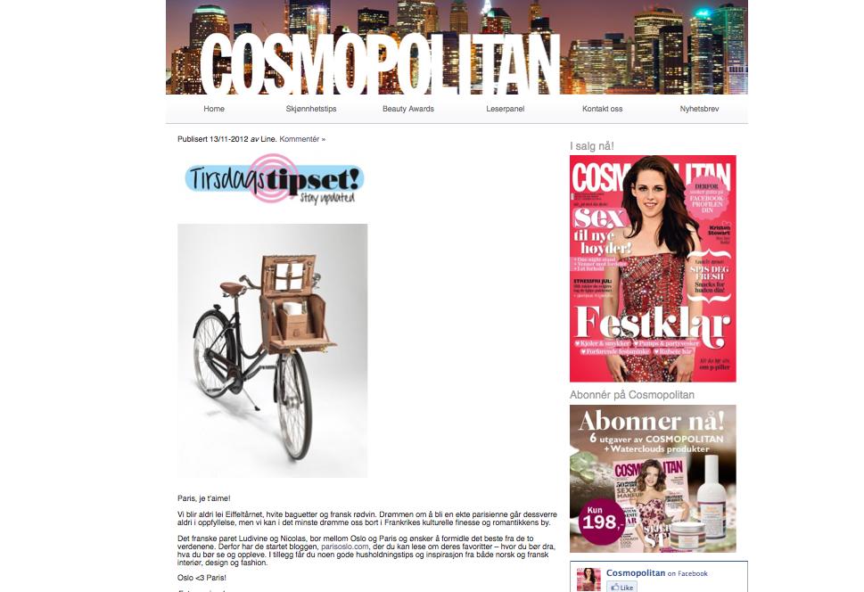 Cosmopolitan.no - November 2012