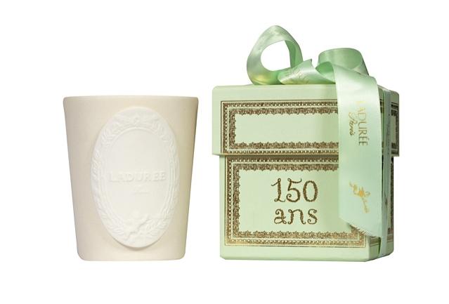 Bougie 'Chantilly' 150 ans Ladurée