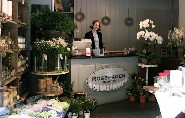Rosehagen - Blomster- Oslo