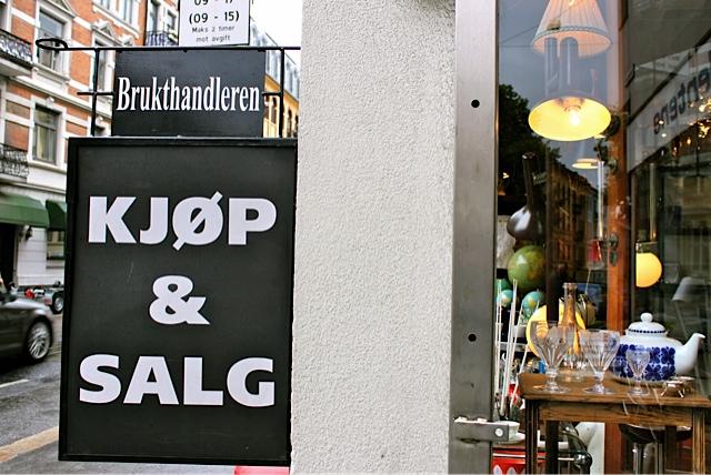 Brukthandleren - Oslo