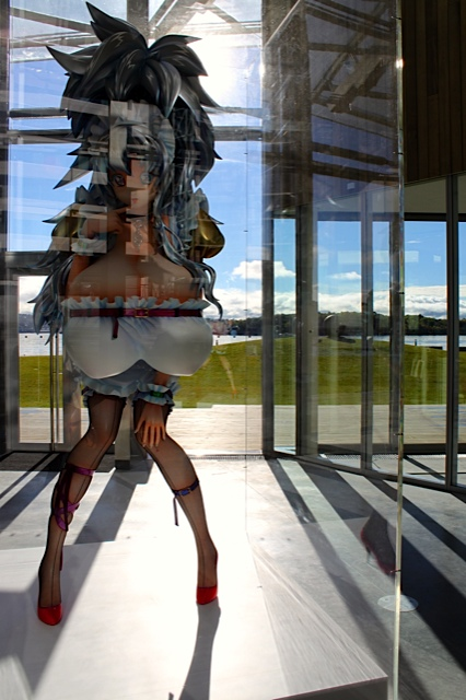 "Astrup Fearnley Museum - ""3-Meter Girl"" - Takashi Murakami"