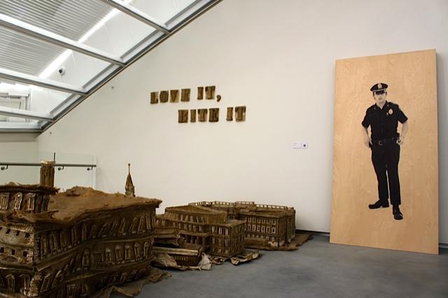 "Astrup Fearnley Museum - ""Love It, Bite It!"" - Liu Wei & ""Baton Exercise"" - Gardar Eide Einarsson"