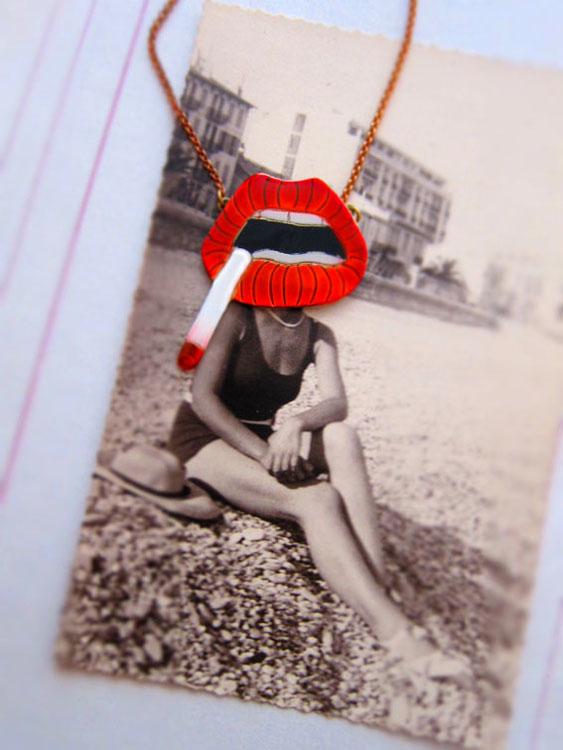 Necklace by Alice Hubert - Paris