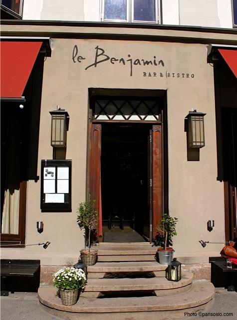 le Benjamin entrance Photo©parisoslo.com