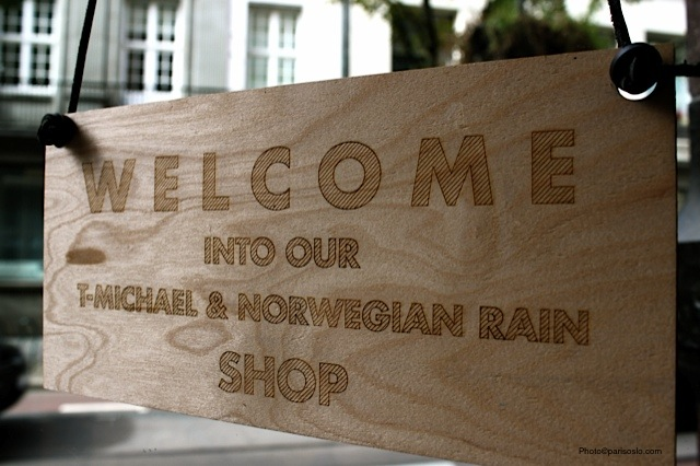 T-Michael & Norwegian Rain Shop - Oslo - Photo©parisoslo.com
