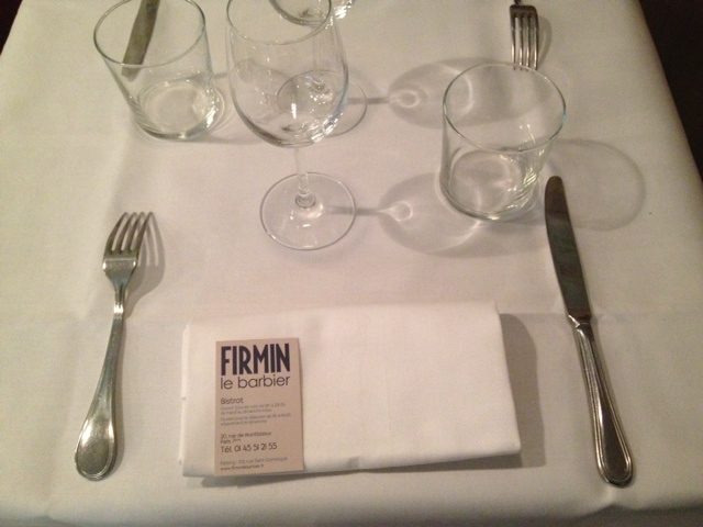 Restaurant Firmin Le Barbier - Paris - photo©parisoslo.com