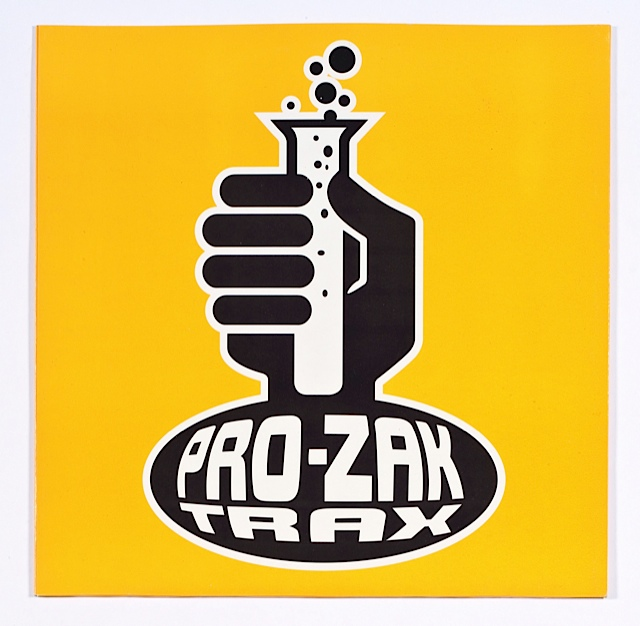 Tom kan, Pro Zak trax, 1994, Prozak trax, vinyle/Exposition French Touch- Les Arts Decoratifs- Paris