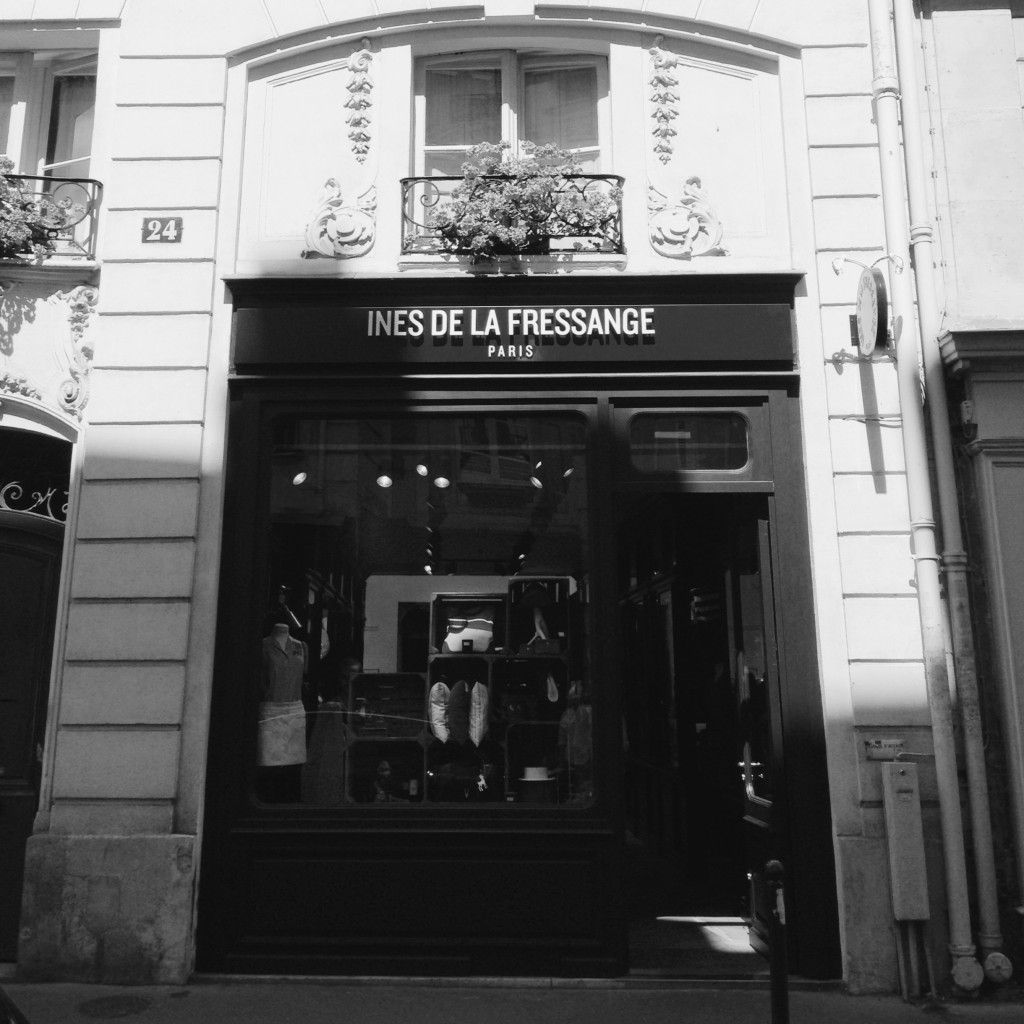 Ines de la Fressang - Boutique Paris